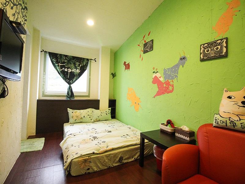 綠野仙境二人房