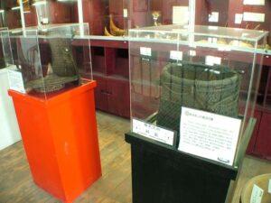 藤編物品展示區