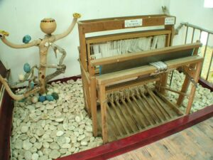 現代織布機